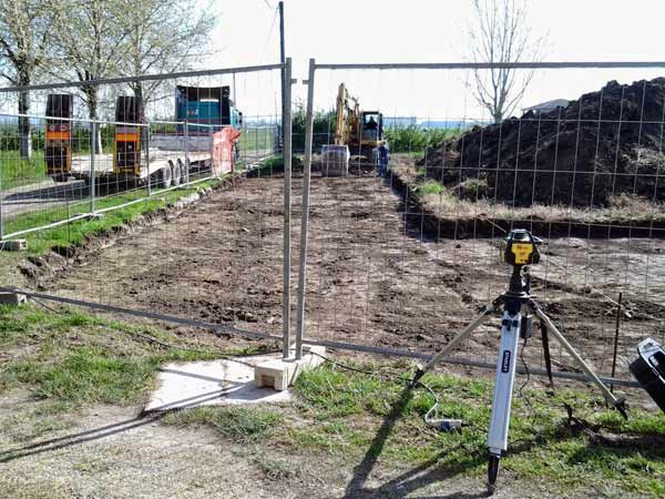 Movimento terra reggio emilia scavo sbancamento splateamento terreno costo al metro cubo - Prezzo terra da giardino al metro cubo ...